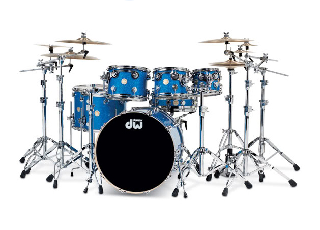 Jeff Rich's Drum Kit